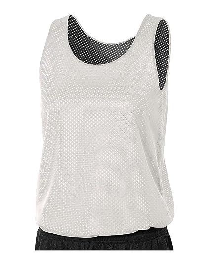 best authentic 33778 83551 A4 Sportswear Black White Ladies 2X Women s Reversible Mesh Tank (Blank)  Uniform Jersey