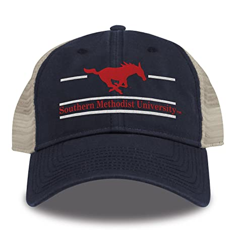 newest collection 2ef1a e817f ... cap e4774 bffaf usa the game ncaa smu mustangs split bar design trucker  mesh hat navy adjustable 41a9e ff03e ...