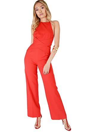 1c3761dda5a7 Image Unavailable. Image not available for. Colour  Lavish Alice Women s  Wrap Around Jumpsuit ...