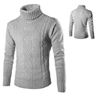 Oplon Maglione di Pullover Casual Stile Britannico Solido Maglione Moda Uomo Jacquard Maglioni