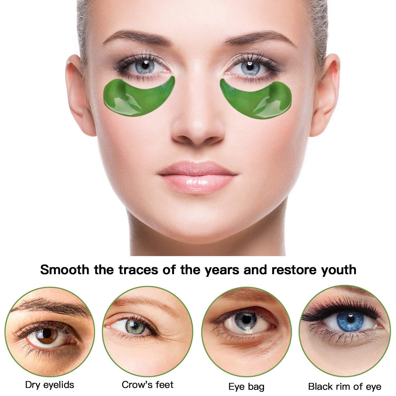 Under Eye Mask Pads Patches -Collagen Gel Eye Treatment Mask Hydrating Dark Circles Wrinkles Putty Eye Bag