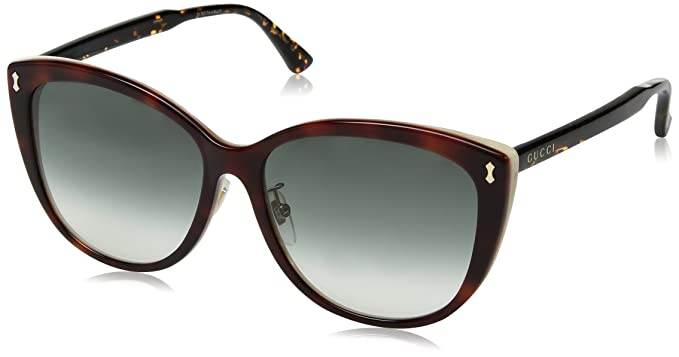 c275f80f5a0 Amazon.com  Gucci GG0193SK - Avana 004  Clothing