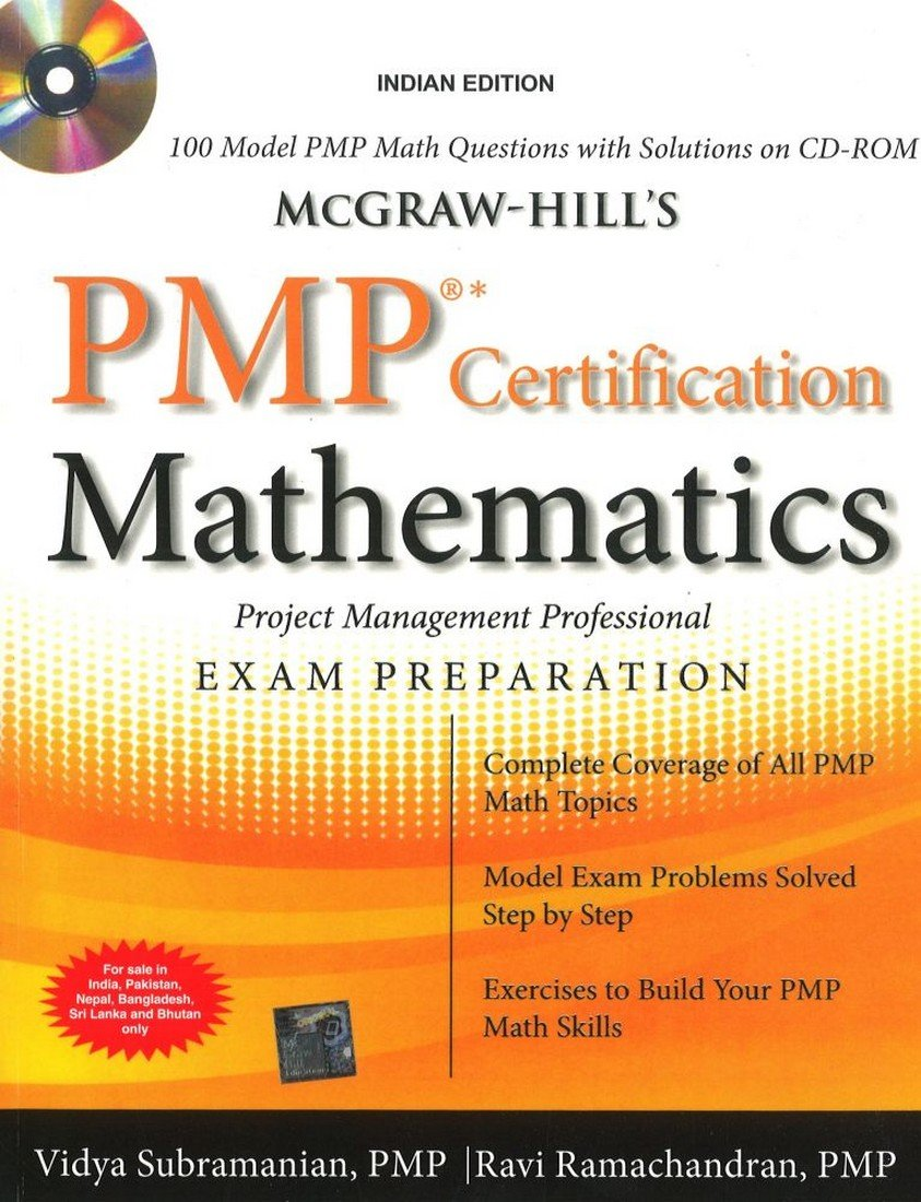 Buy Mcgraw Hills Pmp Certification Mathematics With Cd Rom Book