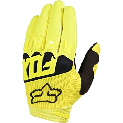 2018 Fox Racing Dirtpaw Race Gloves-Yellow-XL