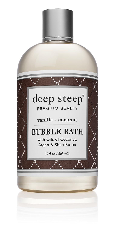 Deep Steep Bubble Bath, Vanilla Coconut, 17 Ounce Karewell Brands Inc -- Dropship