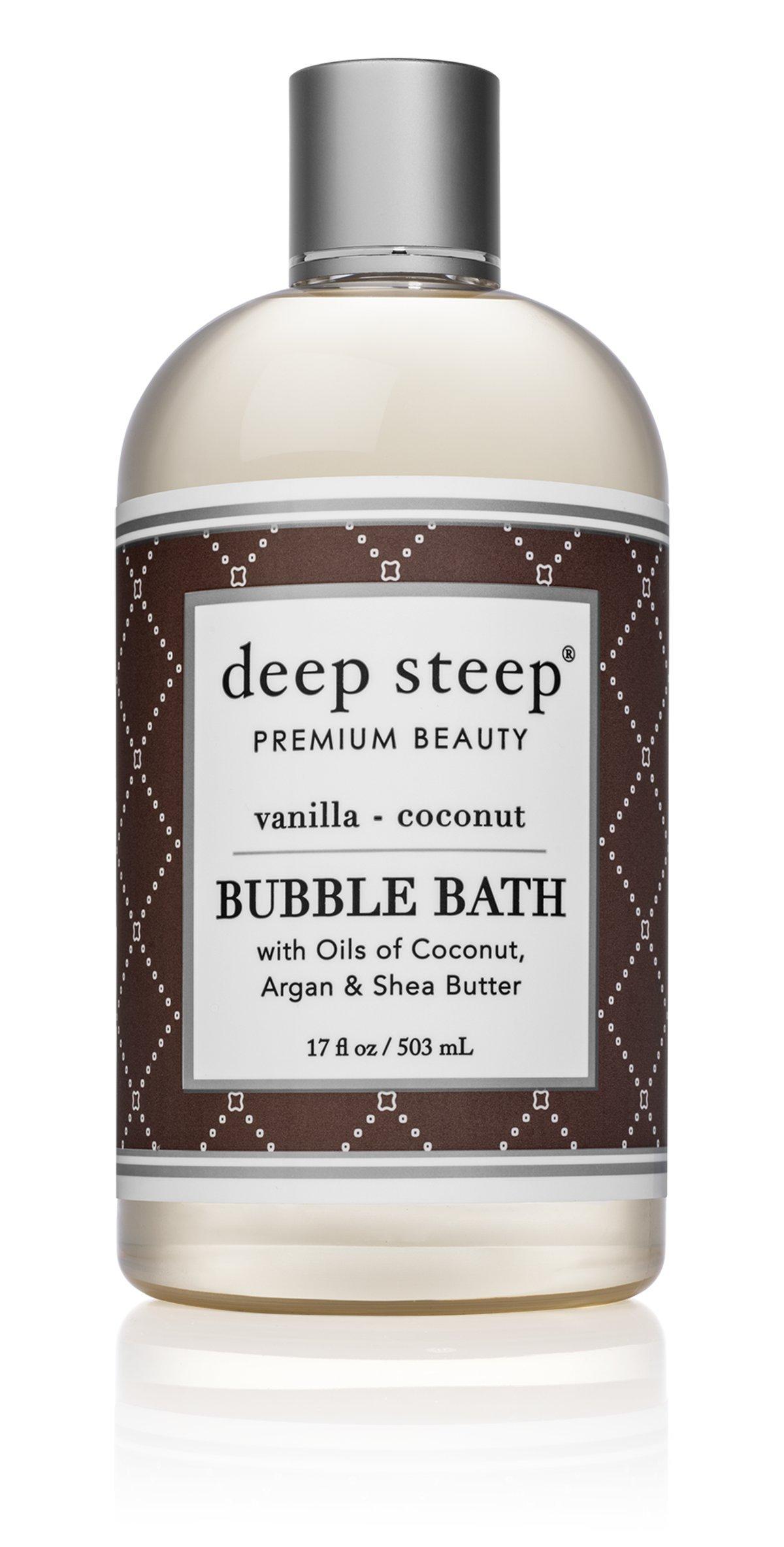 Amazon.com : Deep Steep Bubble Bath, Lavender Chamomile, 17 Ounces ...