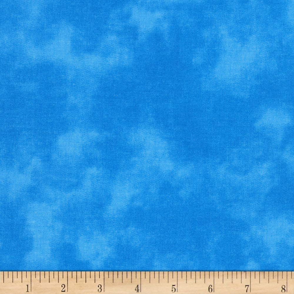 Kaufman Cloud Cover Blender Water Quilt Fabric By The Yard