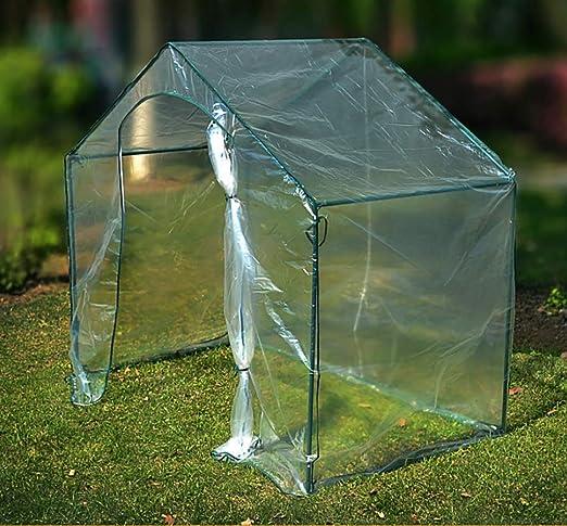Invernadero Jardín de PVC Invernadero con Estructura de Metal - Transparente (Tamaño: 180 * 105 * 153 cm): Amazon.es: Hogar