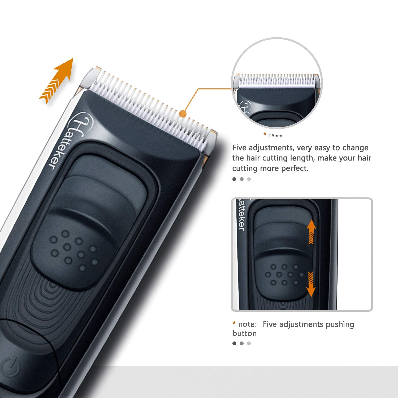 Cordless Beard Trimmer Hair Trimmer Clipper Haircut Kit for Men Rechargeable