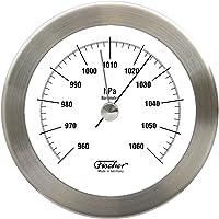 fischer 1512B-01 - Barómetro de Acero Inoxidable (103