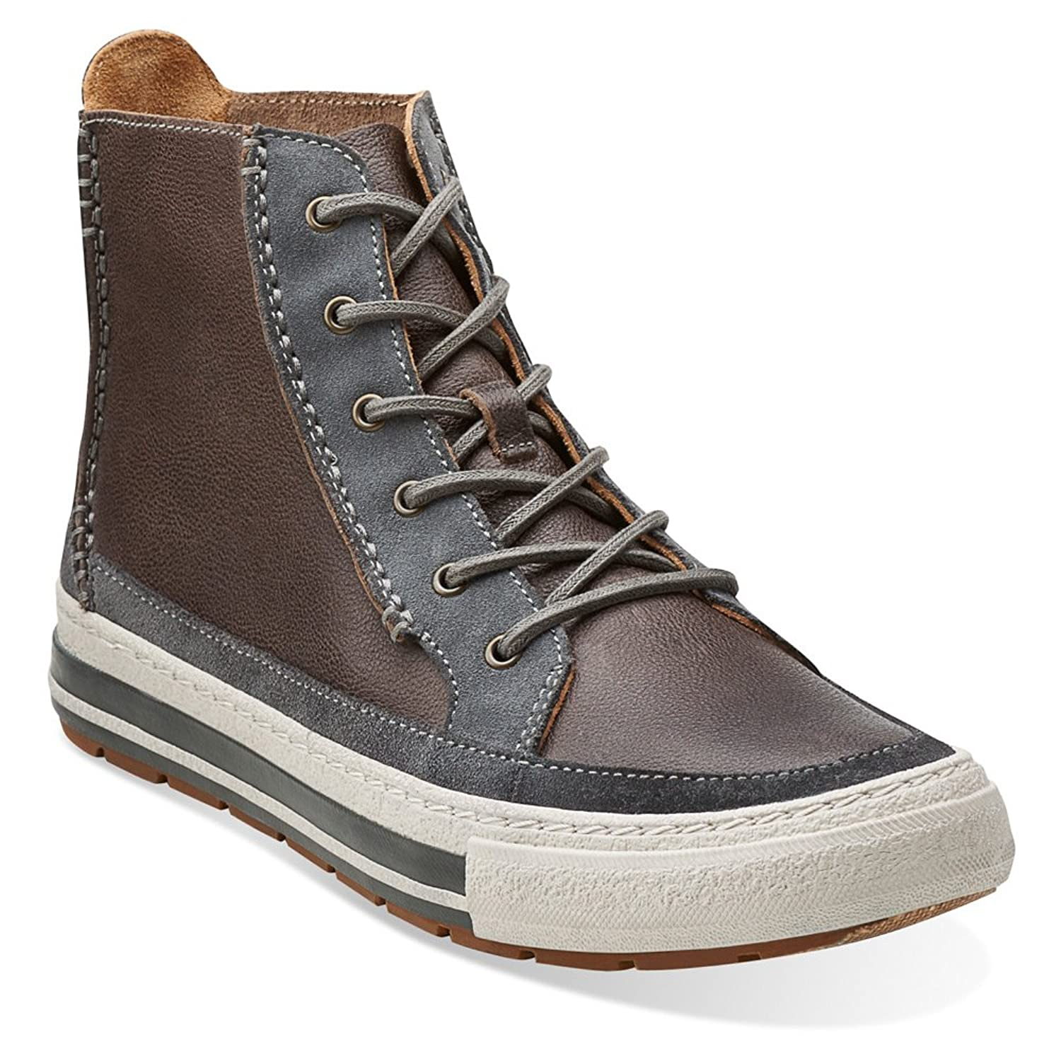 Clarks Men's Nepler Rise Leather Casual Sneakers