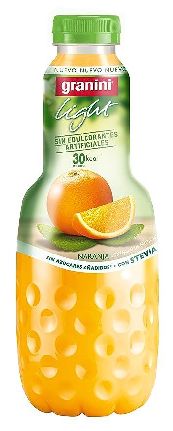 Granini Light Zumo de Naranja con Edulcorante de Extracto de la Hoja de Stevia- 1