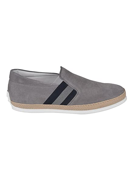 2d1c67beadd Tod s Men s XXM0TV0V530RE0B414 Grey Suede Slip On Sneakers  Amazon ...