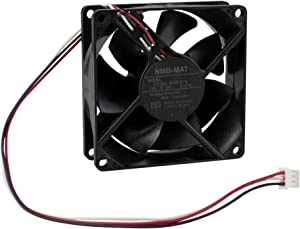 NMB-Mat 80x80x25mm Low Speed 12v Fan #3110GL-B4W-B19