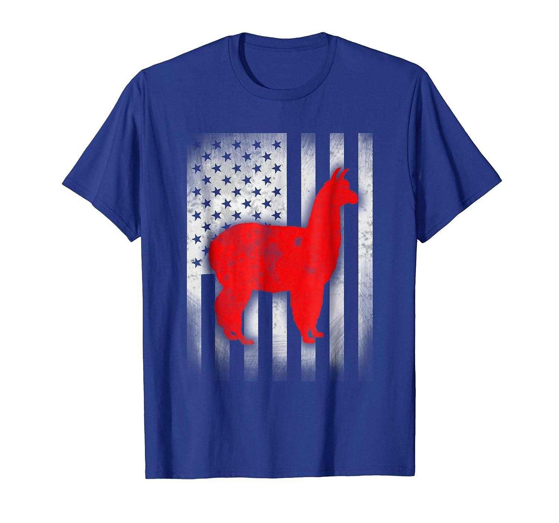 alpaca shirt US Flag-azvn