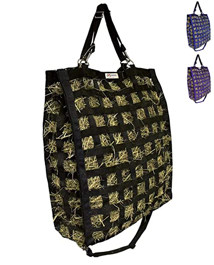 36ed6e7f4e Derby Originals Super-Tough Patented Four Sided Slow Feed Horse Hay Bag  with One Year