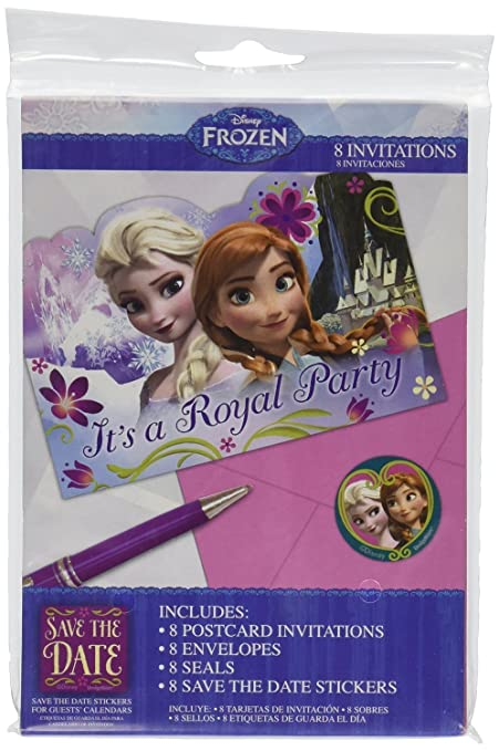 Amazon disney frozen birthday party invitations with envelopes disney frozen birthday party invitations with envelopes 24 count filmwisefo