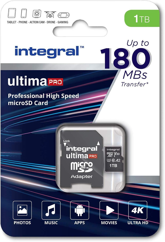 Integral 1tb Micro Sd Karte 8k Und 4k Video Lesen 180 Computer Zubehör