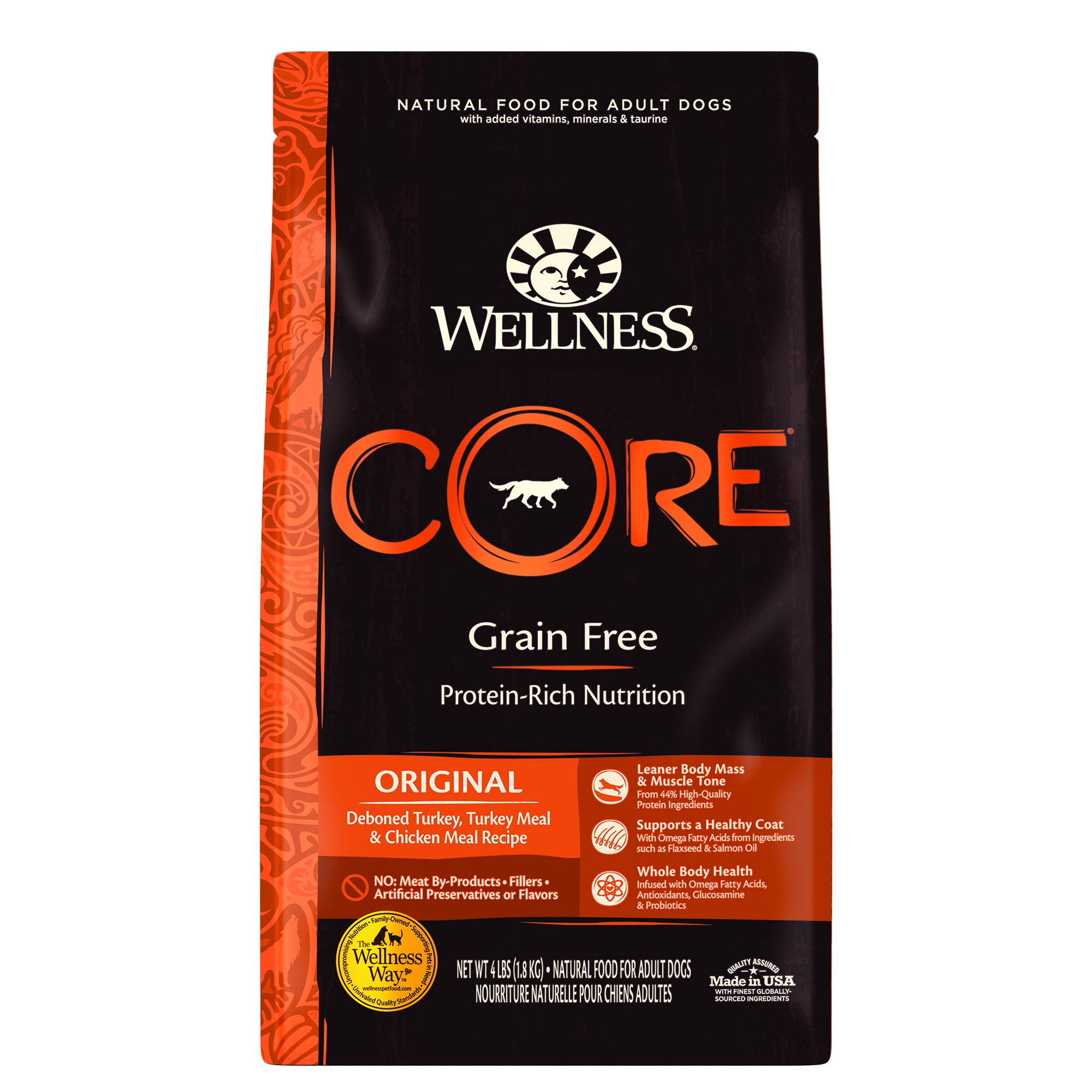 Wellness CORE Natural Dry Dog Food Original Turkey & Chicken
