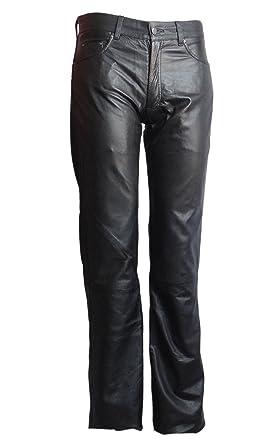 Herren Lederhose Bono Lammnappa schwarz  Amazon.de  Bekleidung 117f7910f6