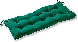 Greendale Home Fashions AZSC4805-FOREST Leaf Green 44-inch Outdoor Sunbrella Fabric Swing/Bench Cushion