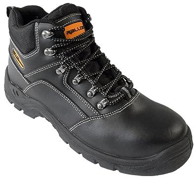Arbeitsschuhe Sicherheitsschuhe Schuhe Schwarz Echt Leder LC521 S3 Stahlkappe 38 39 40 41 42 43 44 45 46 47 Herren...