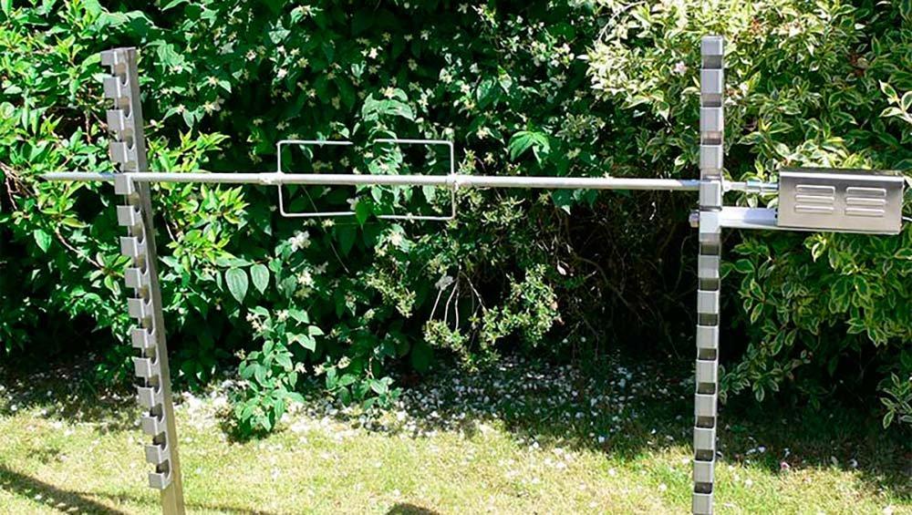 BSA Areatec - Motor para espetón eléctrico Pro de 90 kg.: Amazon.es: Jardín