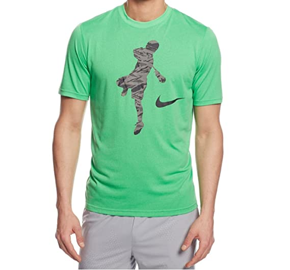 49325196d4e5 Nike Lax Legend Action Shot Dri-fit Lacrosse Shirt at Amazon Men's Clothing  store: