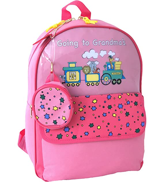 Going to Grandma's Children's Backpack Color