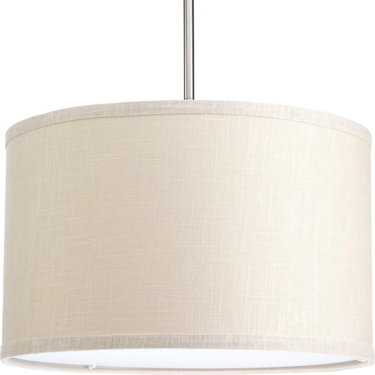 Progress Lighting P8829-56 Accessory Fabric Shade, 16'', Khaki