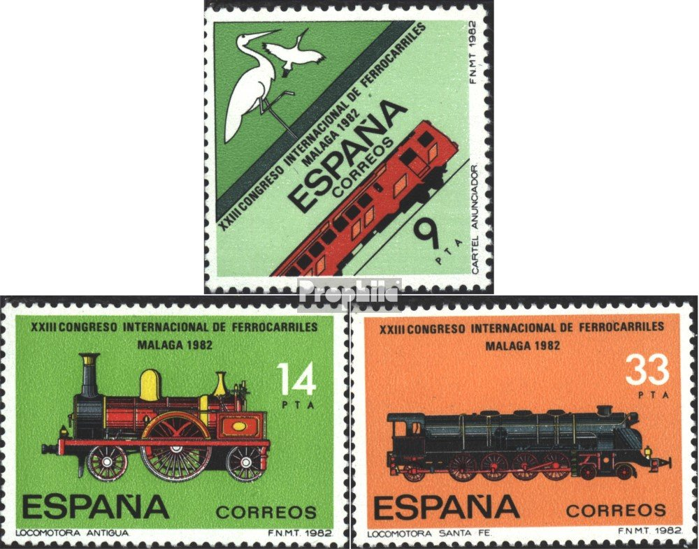 Amazon.com: Spain 2556-2558 (Complete.Issue.) 1982 ...