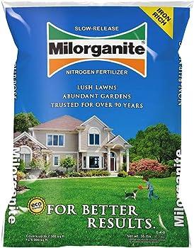Milorganite 32 lbs Nitrogen Fertilizer For Fall