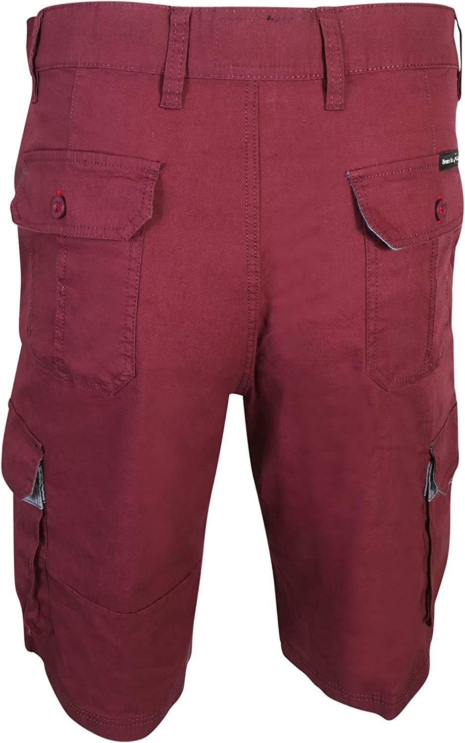 Beverly Hills Polo Club Mens Twill Cargo Short 2 Pack