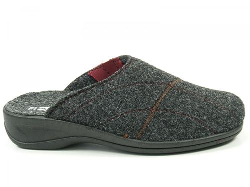 Rohde Schuhe Damen Hausschuhe Pantoffeln Wechselfußbett Weite H Verden  2411, Schuhgröße 43 Farbe ee764e168d