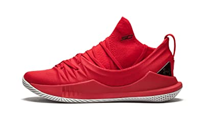 b82c5b77262b8 Amazon.com | Information Technology UA Curry 5 - US 9 Red | Fashion ...