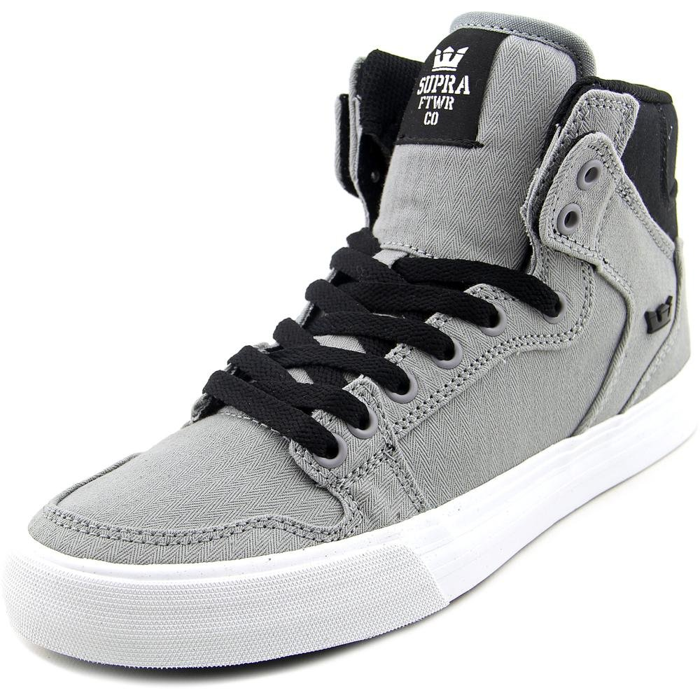 Supra Vaider LC Sneaker B016EE38KE Medium / 9.5 C/D US Women / 8 D(M) US Men|Grey/Black/White