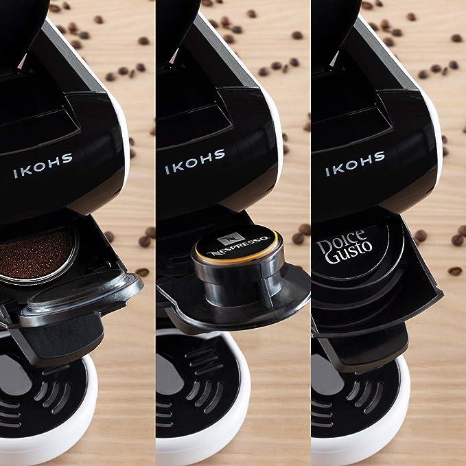 IKOHS Máquina de Café Espresso Italiano - Cafetera Multi Cápsulas ...
