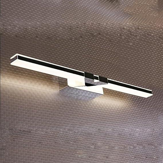 MJJ- Espejo de Baño con Iluminación LED Luces del espejo ...