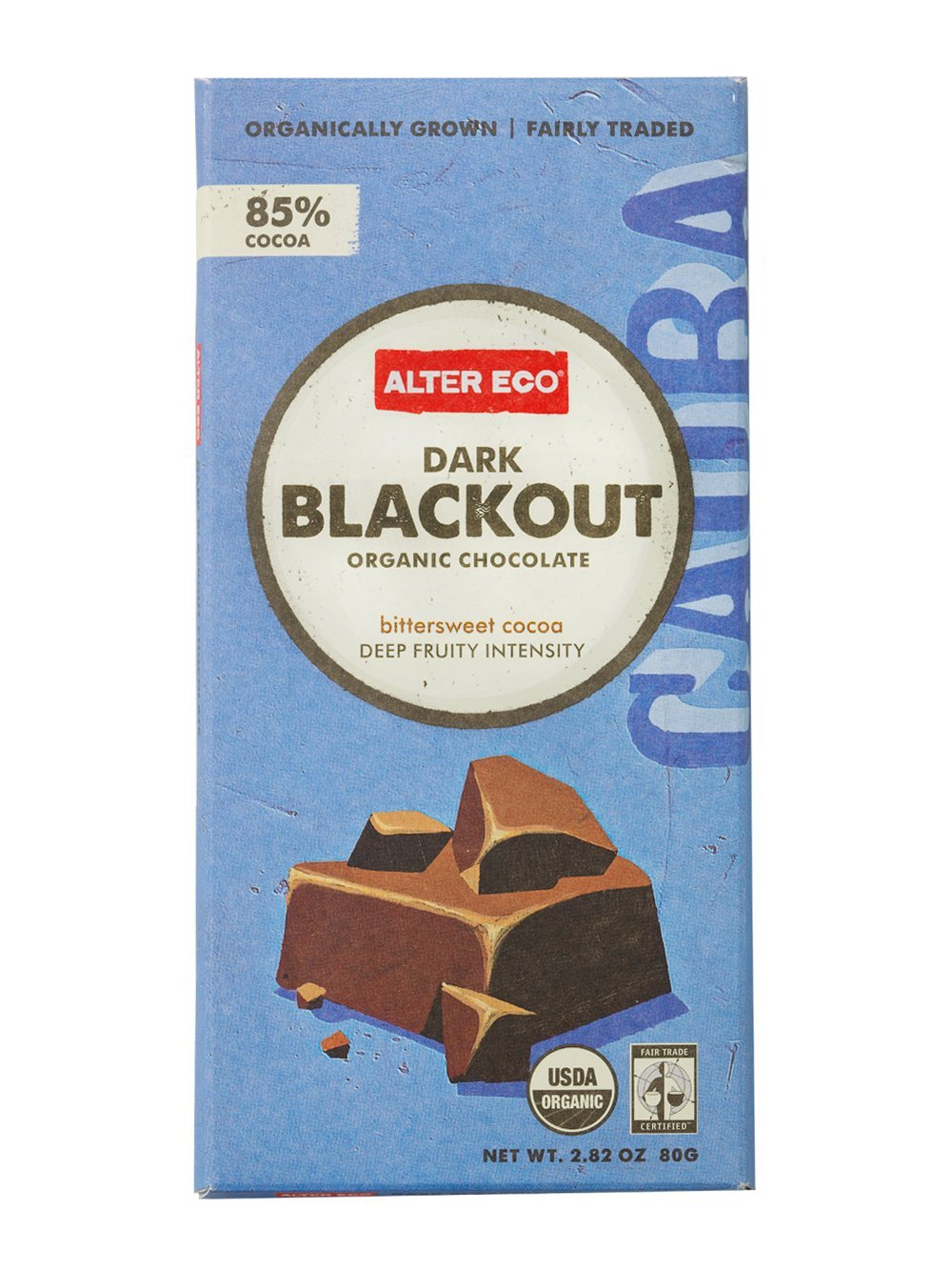 Alter Eco - Dark Blackout Organic Chocolate - 2.82 oz