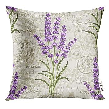 Amazon.com: UPOOS - Funda de almohada con diseño de flores ...