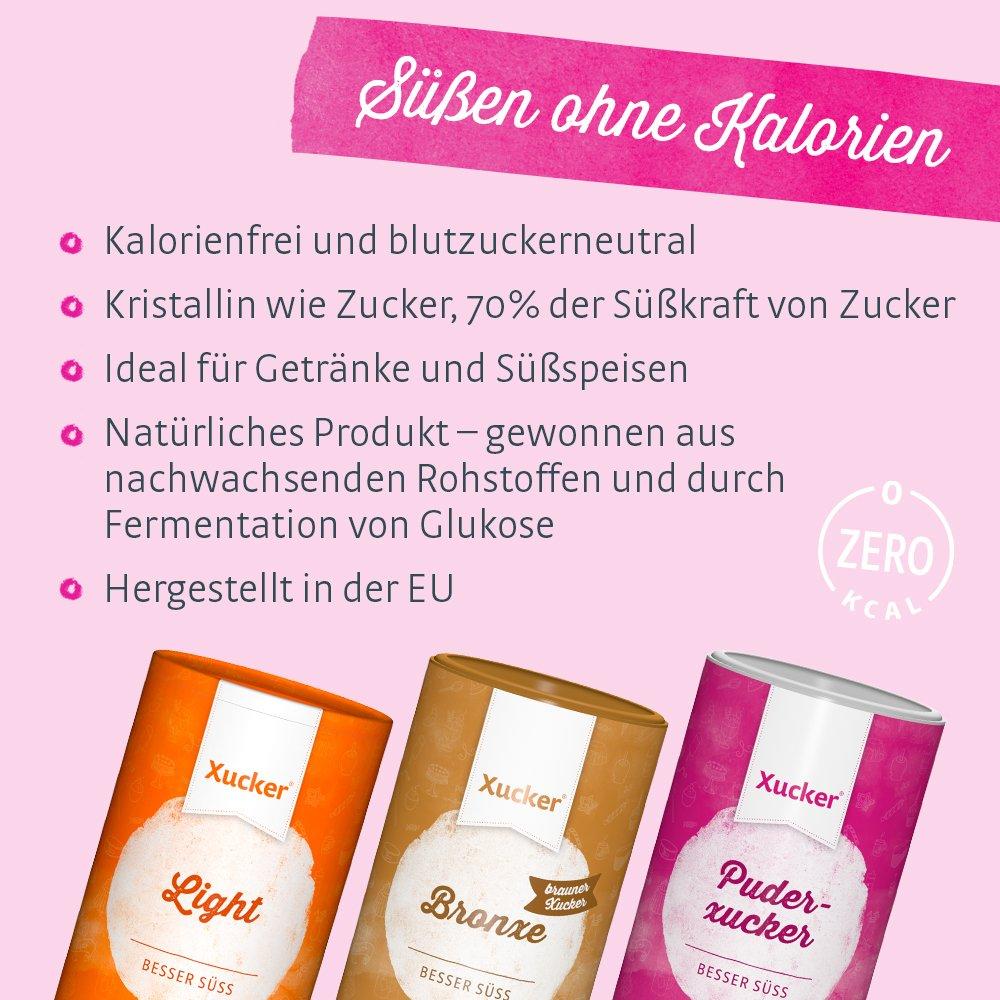 Xucker 2,5 kg-Box Puderxucker natürliche Puderzucker-Alternative aus ...