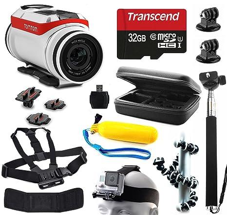 TomTom Bandit 4 K HD cámara de acción con 11 piezas ...