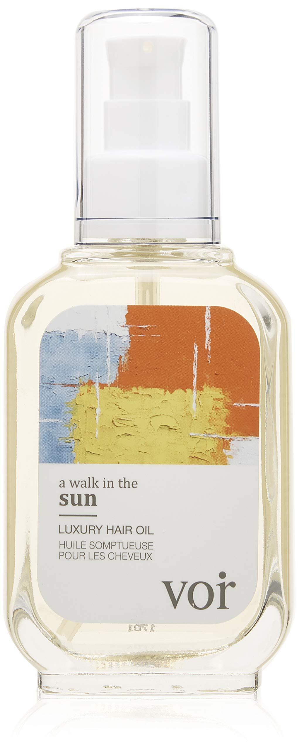 Voir - Luxury Natural Hair Oil   A Walk in The Sun (3.4 fl oz   100 ml)