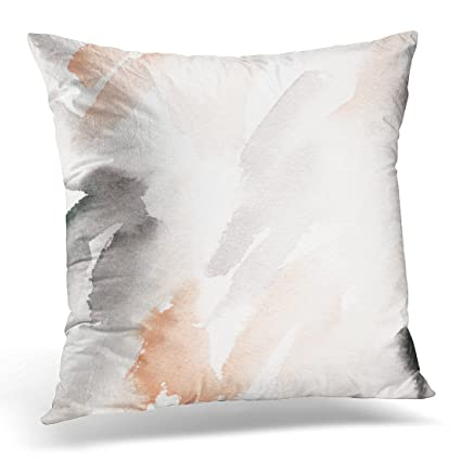 Amazon UPOOS Throw Pillow Cover Pink Blush Hand Abstract Best How To Wash A Decorative Pillow