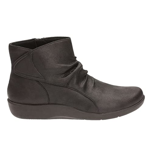 Clarks Women's Cloud Steppers Ankle Boots Sillian Chell Black