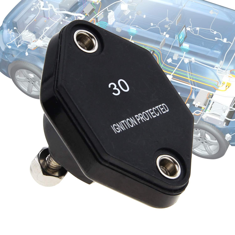 RKURCK 12V-32V DC Manual Reset Circuit Breaker Fuse Inverter 50A ...