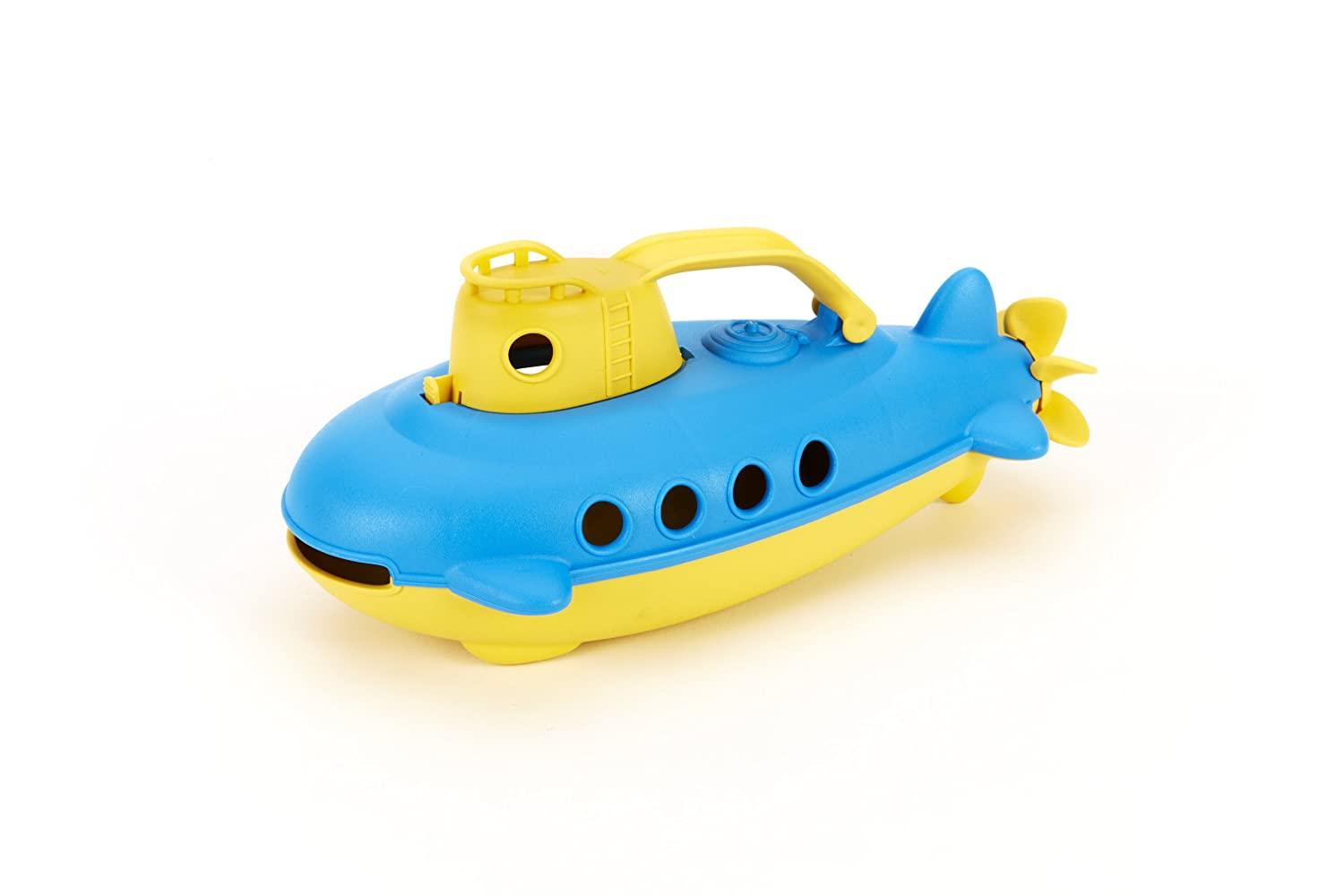 Amazon.com: Green Toys Submarine in Yellow - BPA Free, Phthalate ...