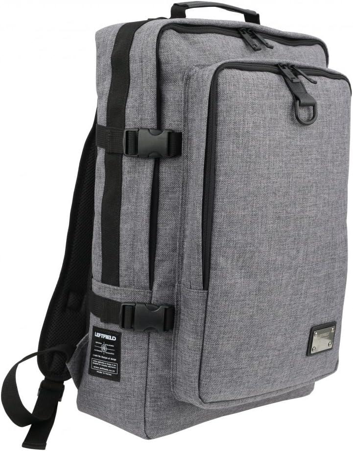 Canvas Buckle School Laptop Korean Style Unisex Backpacks GRAY