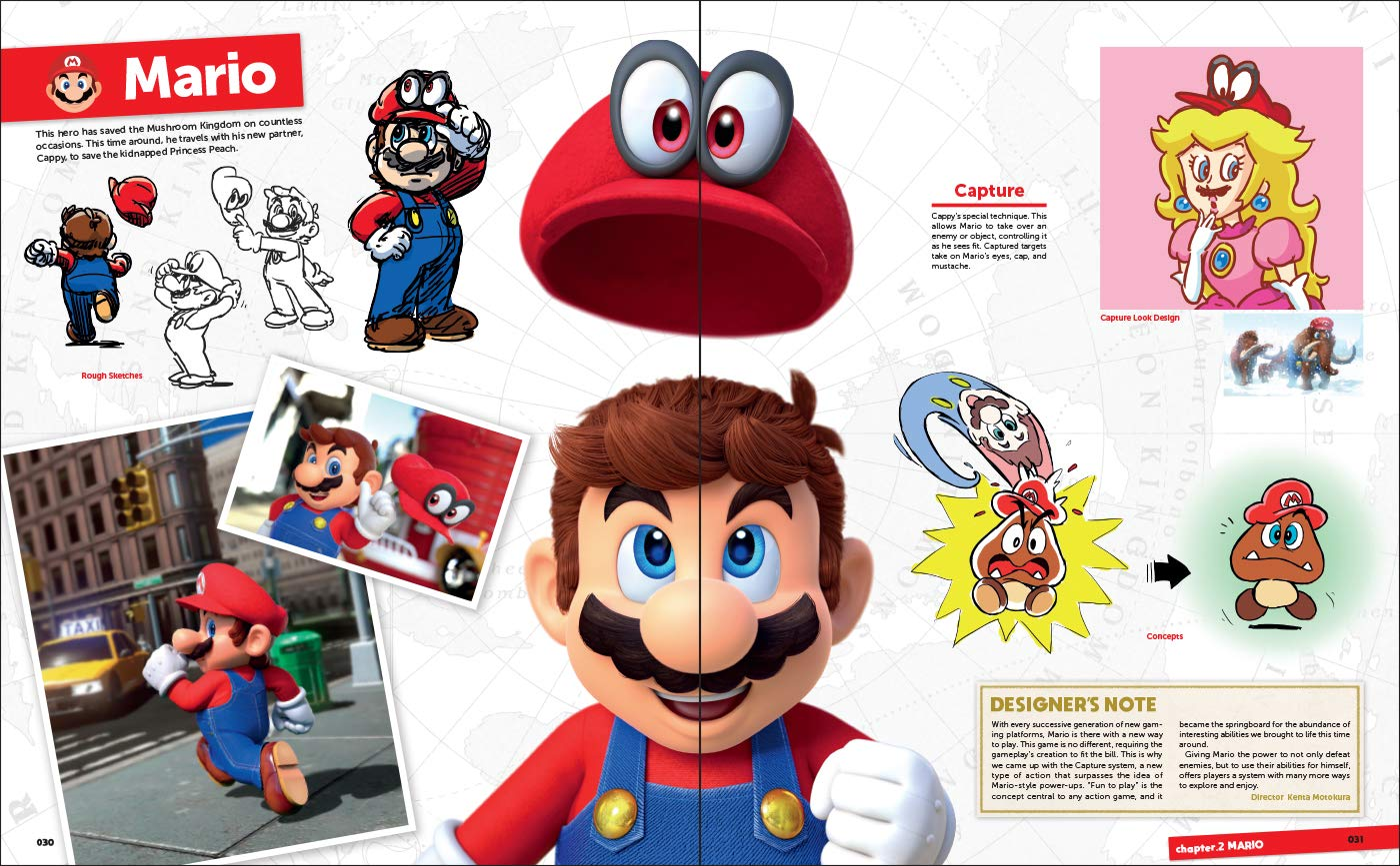The Art Of Super Mario. Odyssey: Amazon.es: Vv.Aa, Vv.Aa: Libros en idiomas extranjeros