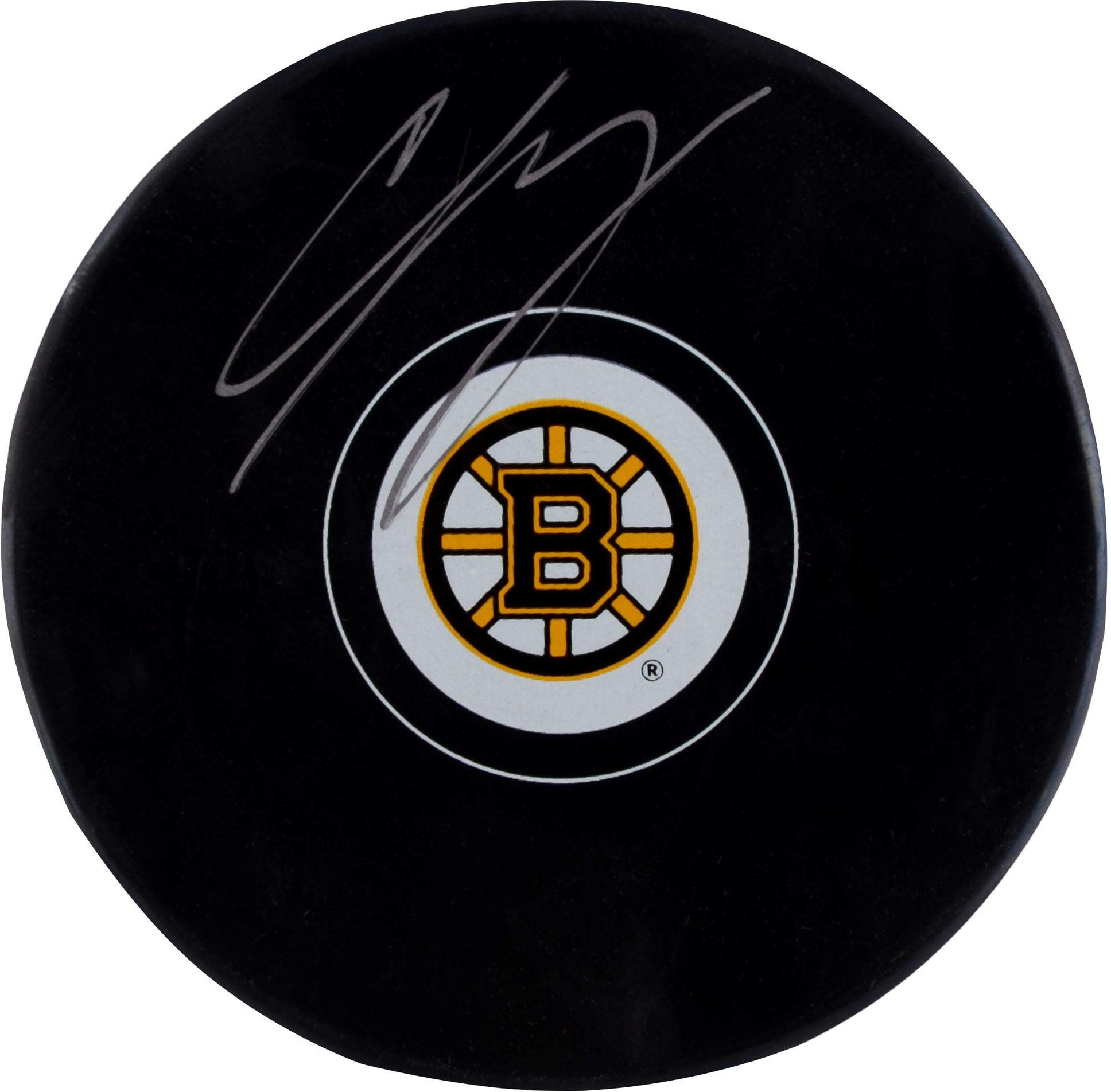 Charlie McAvoy Boston Bruins Autographed Hockey Puck Fanatics Authentic Certified Autographed NHL Pucks